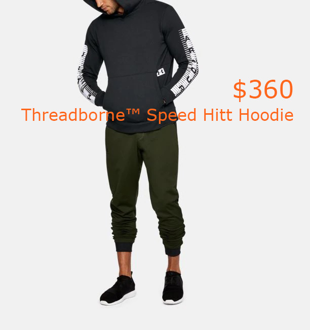 360Men's UA Threadborne™ Speed Hitt Hoodie