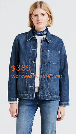 389Workwear Chore Coat