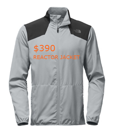 390MEN'S REACTOR JACKET