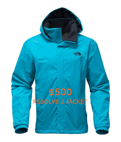 500MEN'S RESOLVE 2 JACKET