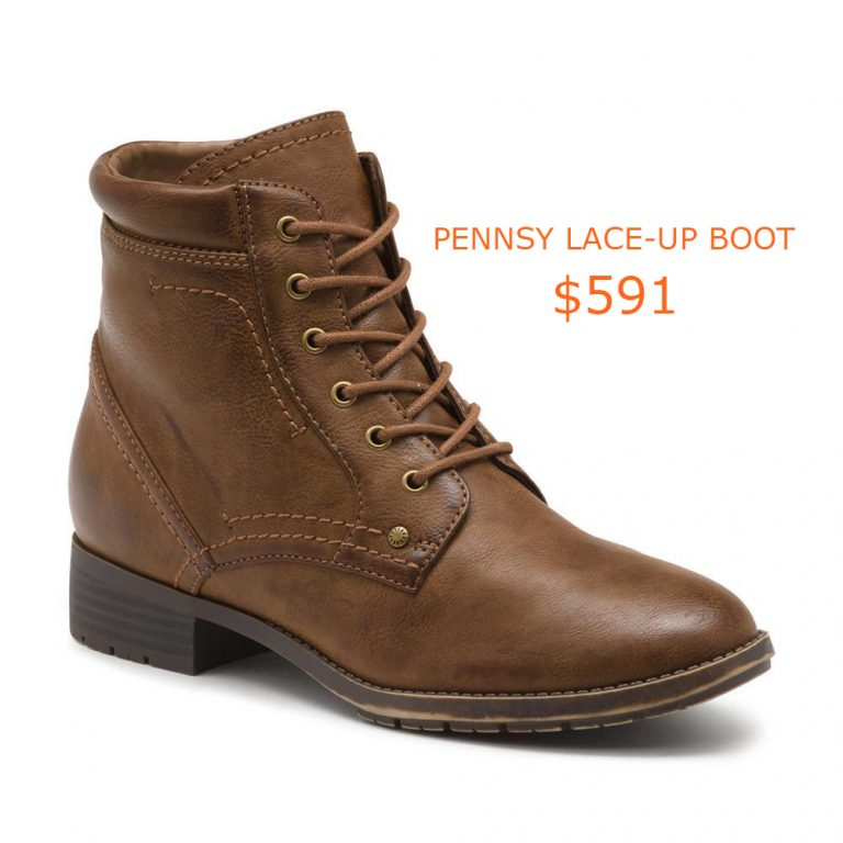 591PENNSY LACE-UP BOOT