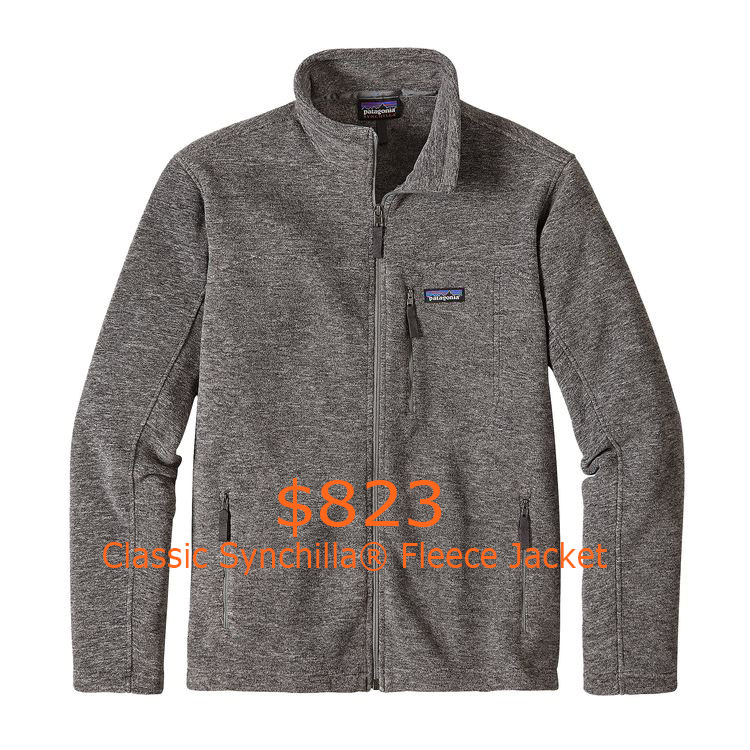 823Patagonia Men's Classic Synchilla® Fleece Jacket