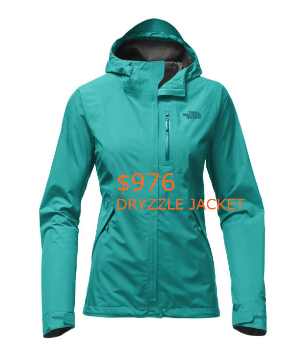 976WOMEN'S DRYZZLE JACKET