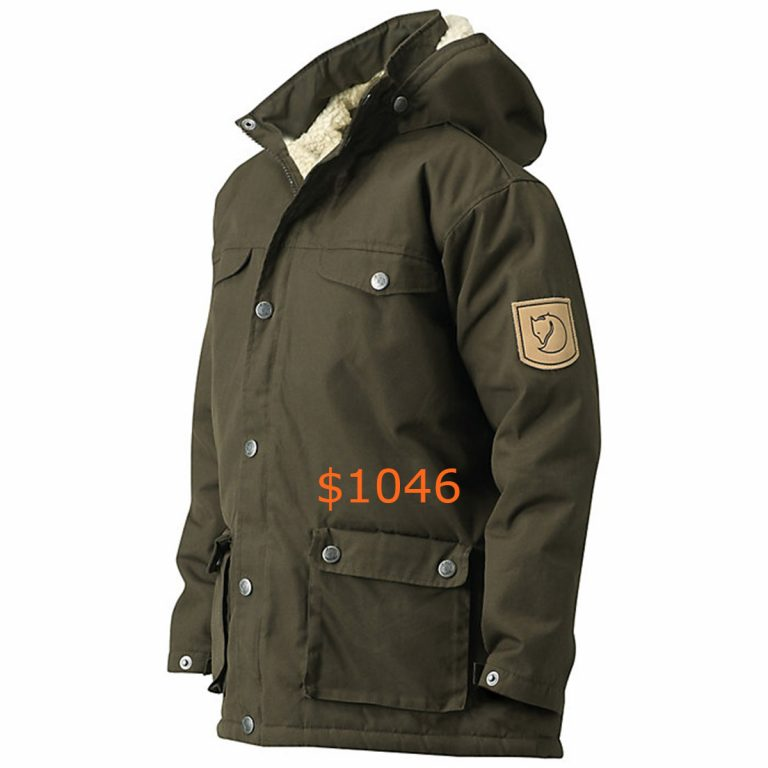 1046Fjallraven Kids' Greenland Winter Jacket