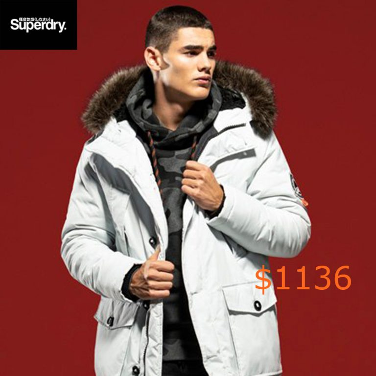1136Superdry Everest Parka Jacket