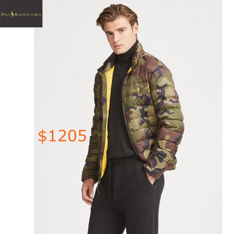 1205Camo Packable Down Jacket