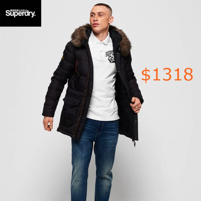 1318Superdry Chinook Parka Jacket