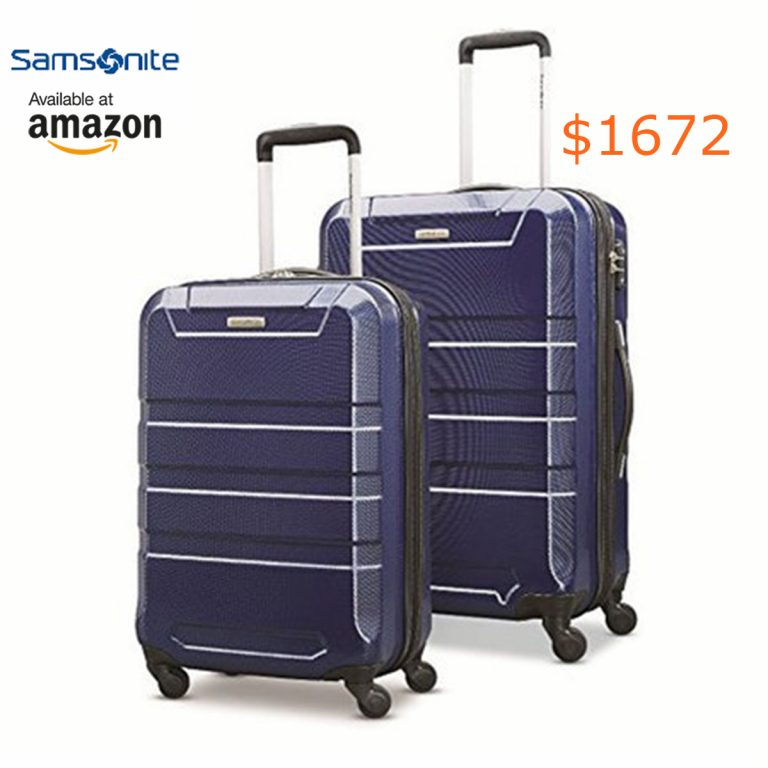 1672Samsonite Invoke 2 Piece Nested Hardside Set (20--24-), Navy Blue