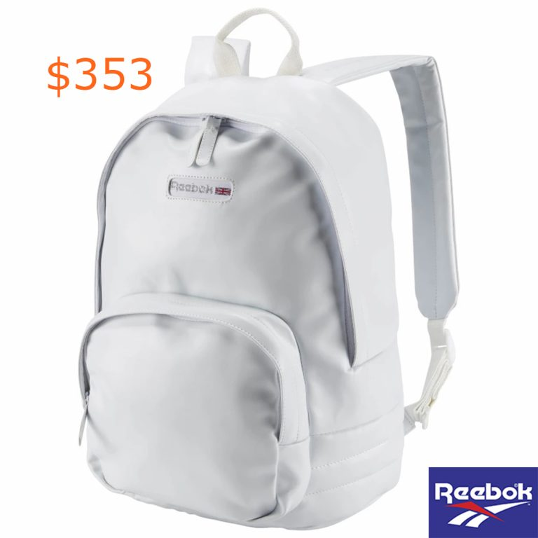 353Reebok Classics Freestyle Backpack - White
