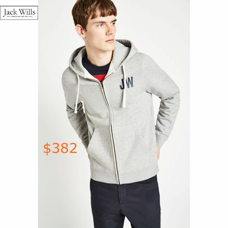 382TUNNICLIFFE ZIP UP HOODIE