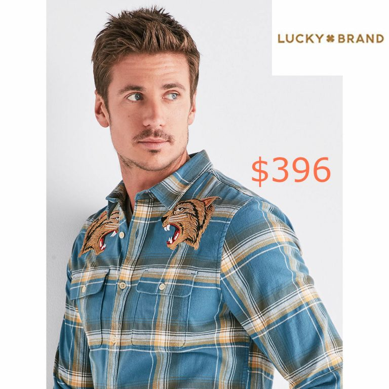 396Clean Embroidered Two Pocket Workwear Shirt