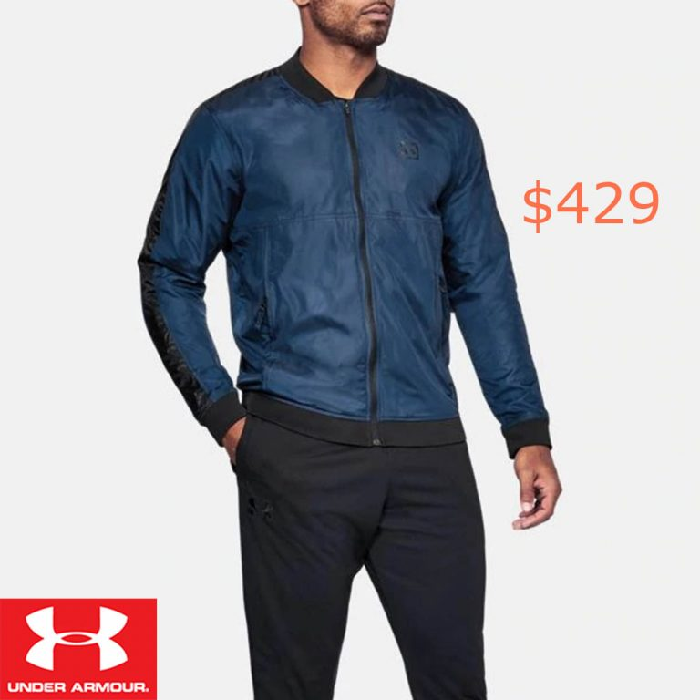 429Men's UA Sportstyle Wind Bomber Jacket