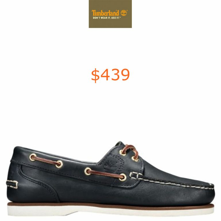 439Women's Classic Amherst 2-Eye Boat Shoes
