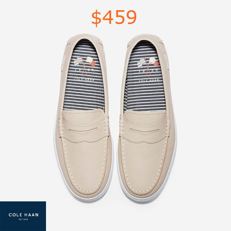 459Men's Nantucket Loafers in Brazilian Sand-Stripe