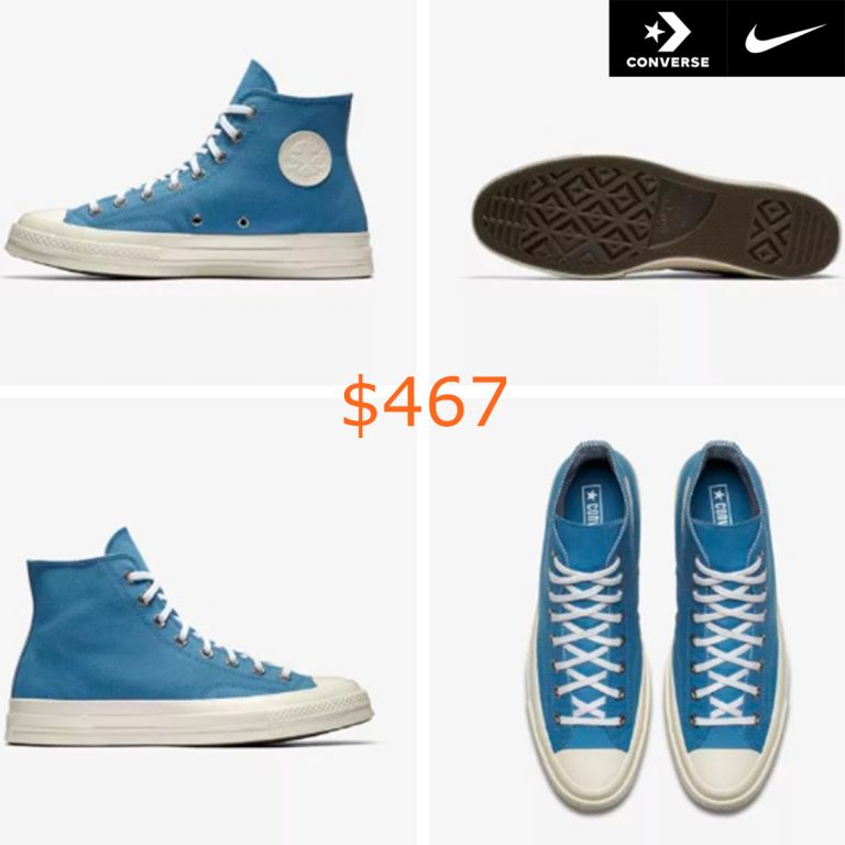 467Converse Chuck 70 Stripe Chambray High Top