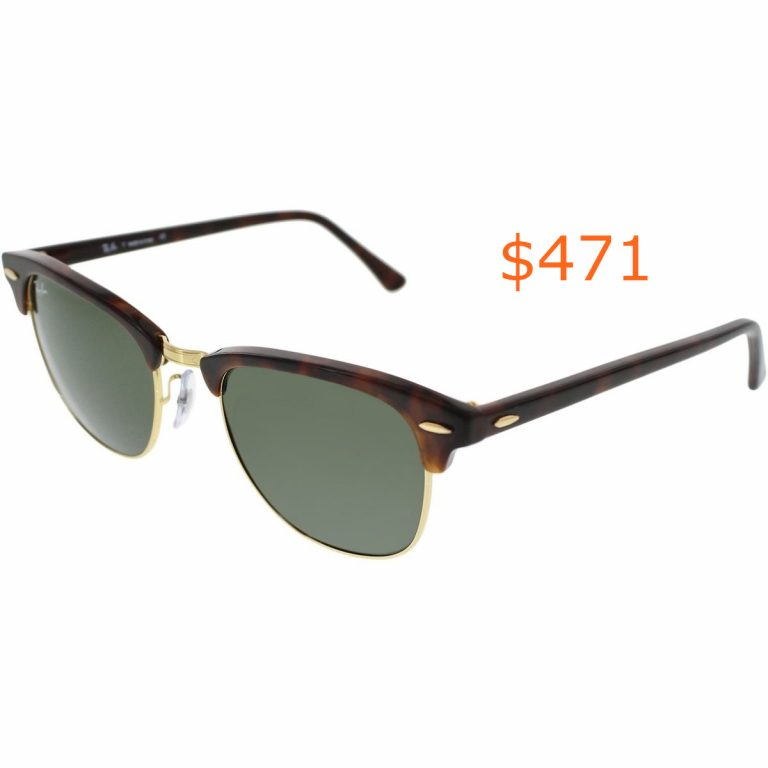 471Ray-Ban RB3016-W0366-51 Clubmaster Tortoise Arista 51mm Sunglasses