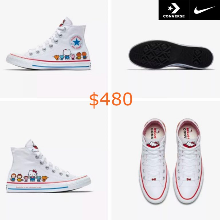 480Converse x Hello Kitty Chuck Taylor All Star Canvas High Top