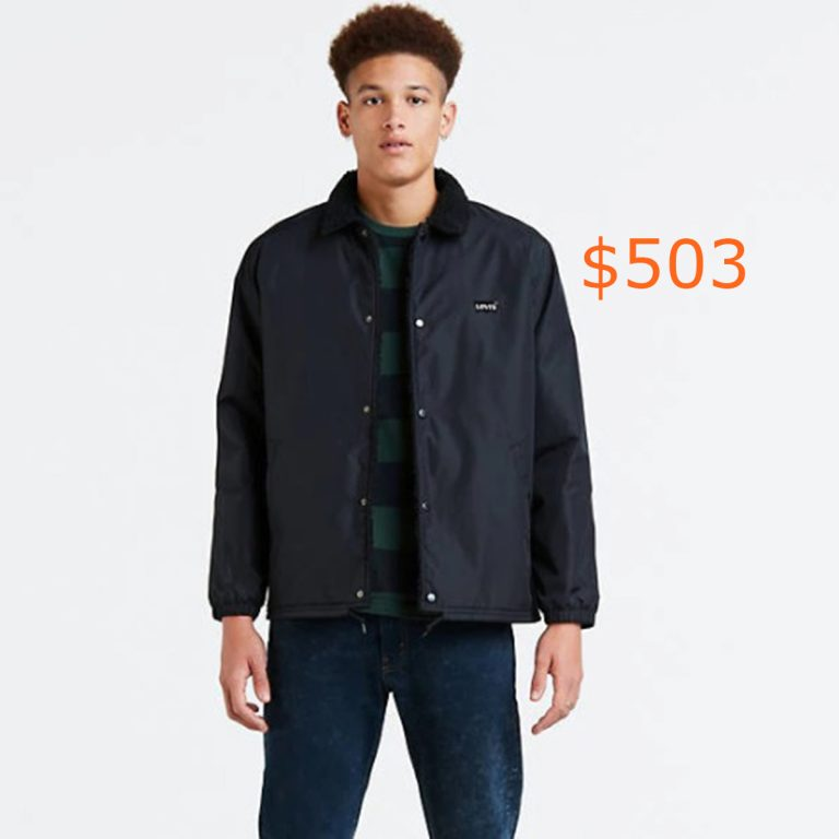 503Sherpa Coach's Jacket