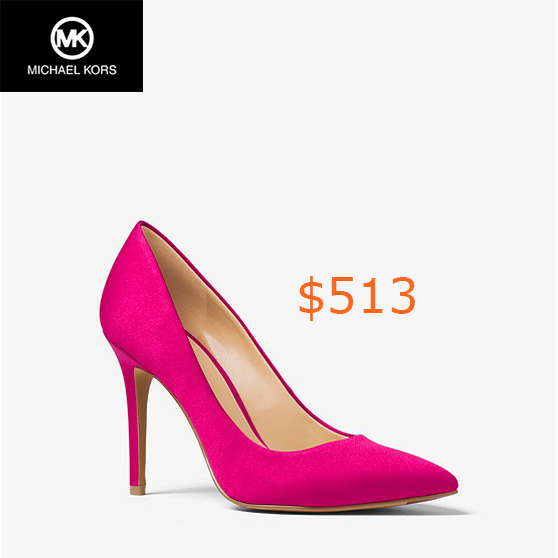 513Claire Satin Pump