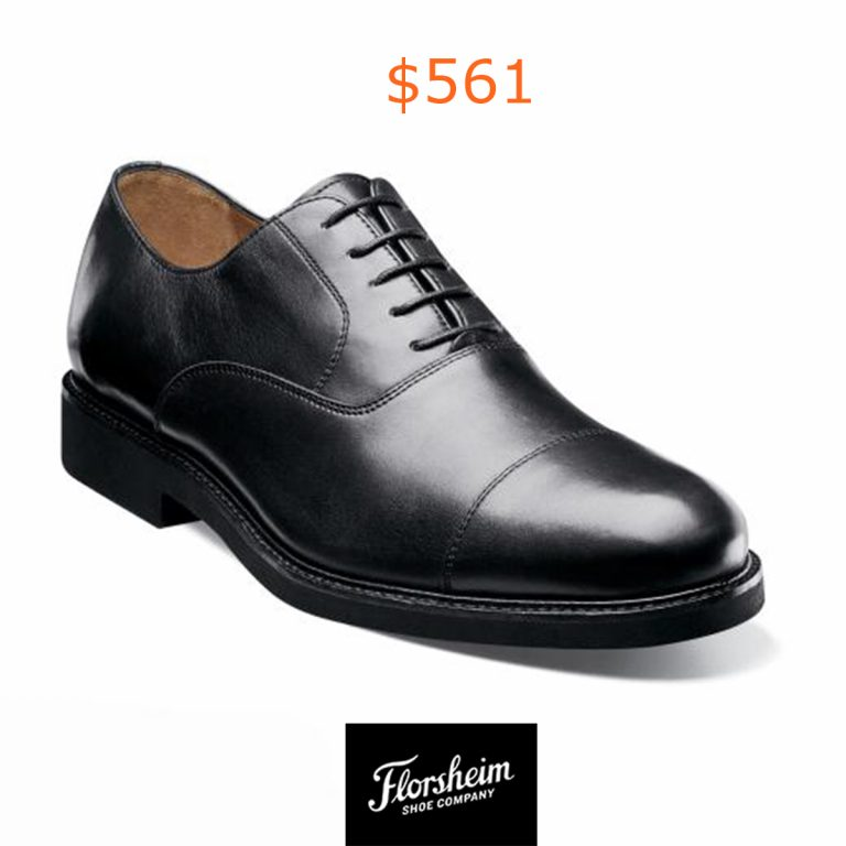 561Black Cap Toe Oxford