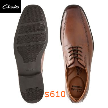 610Tilden Walk Dark Tan Leather