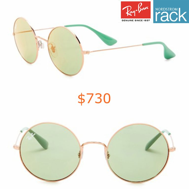 730Ray-Ban - 50mm Round Sunglasses