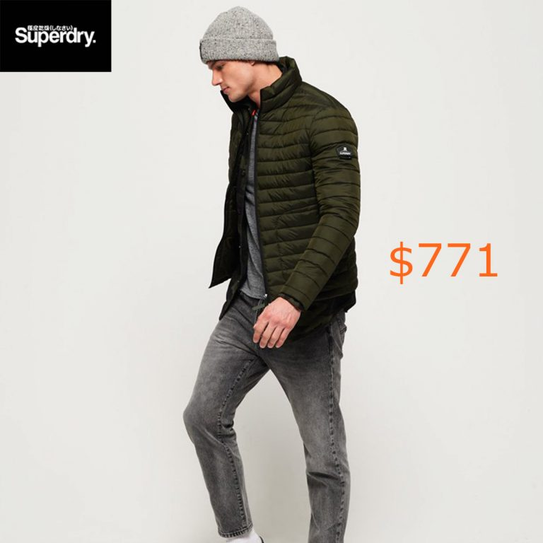 771Superdry Fuji Double Zip Jacket