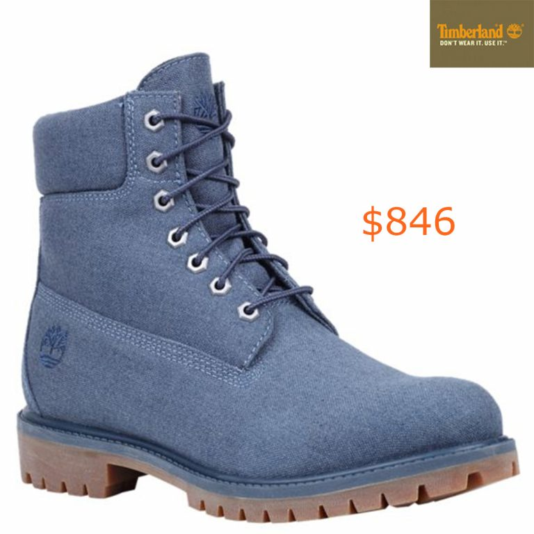 846Men's 6-Inch Premium Canvas Boots