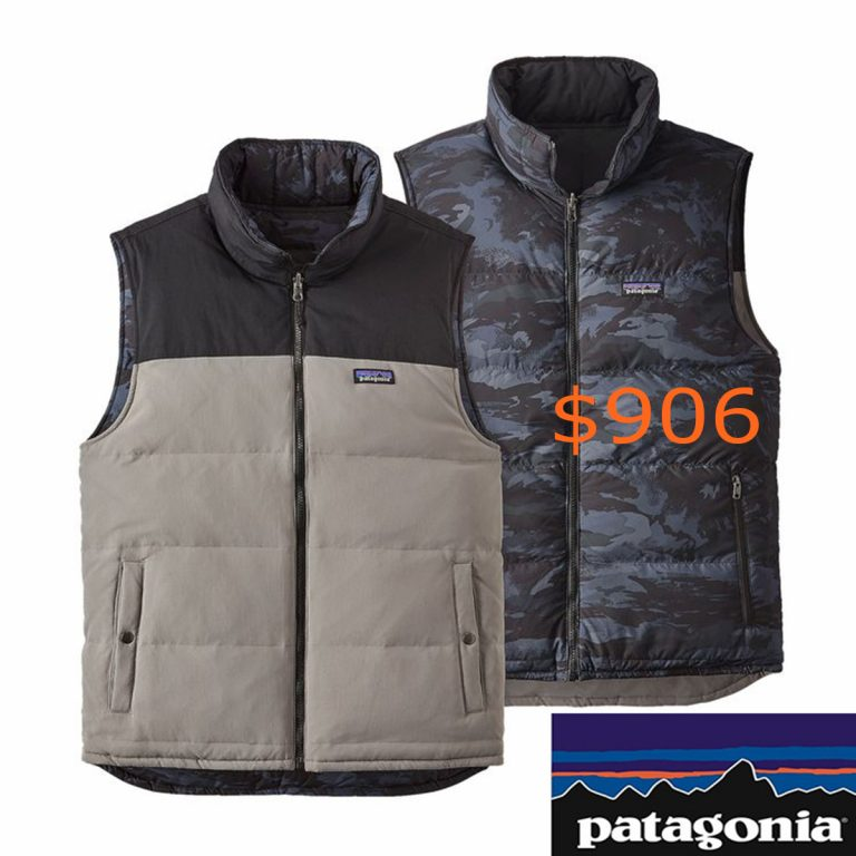 906Patagonia Men's Reversible Bivy Down Vest