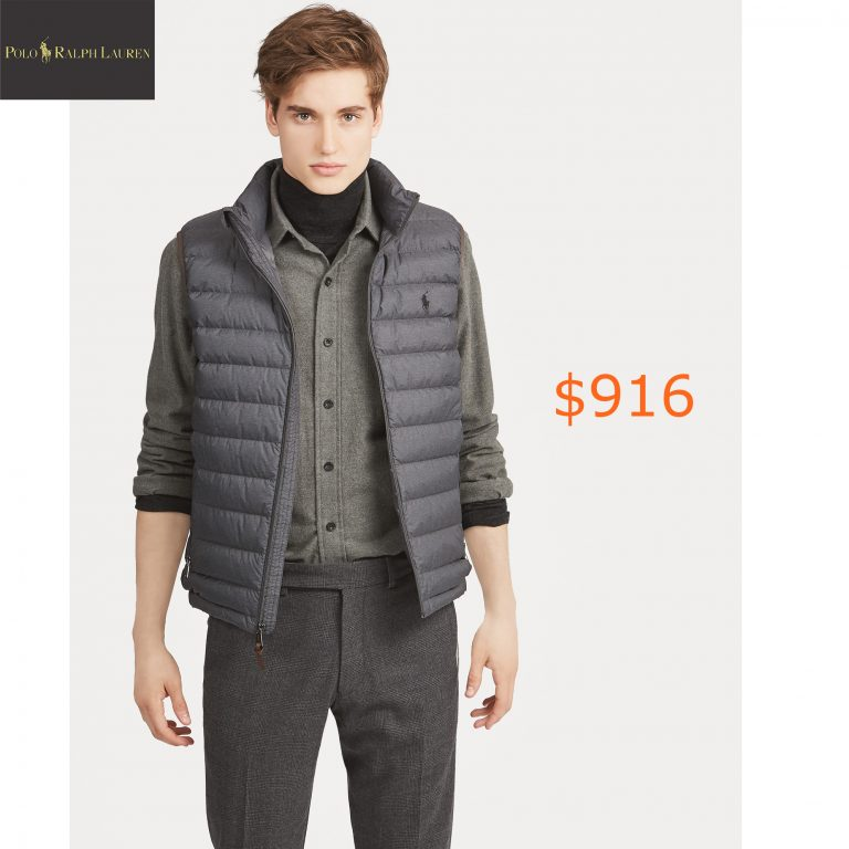 916Packable Down Vest