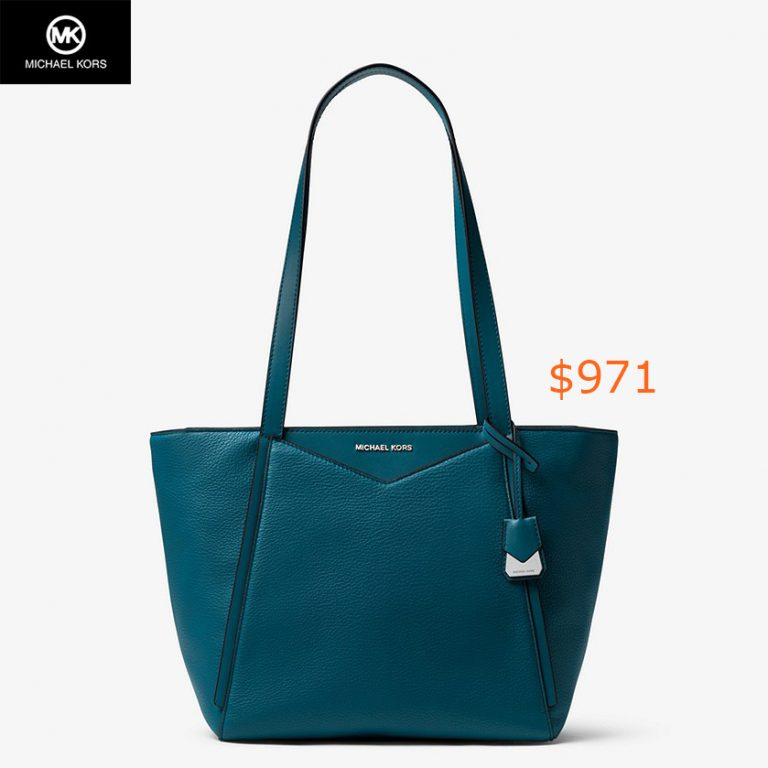 917Whitney Small Pebbled Leather Tote