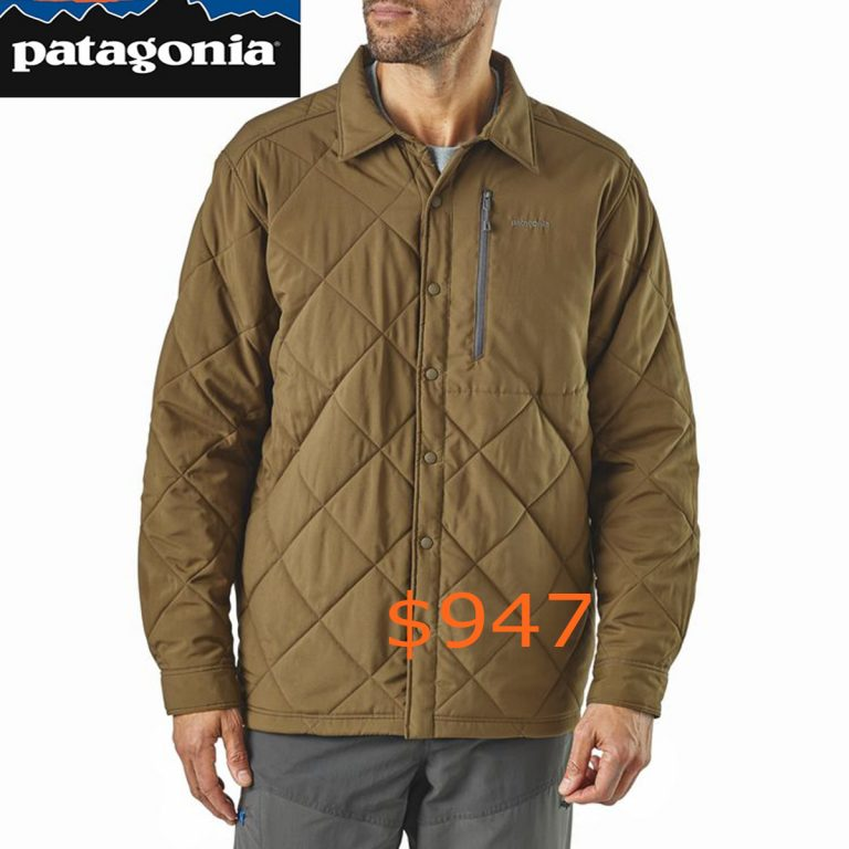 947Patagonia Men's Tough Puff Shirt for Fly Fishing