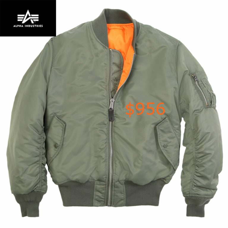 956ALPHA MA-1 FLIGHT JACKET