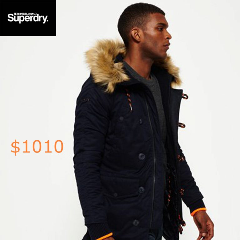 1010Superdry SD-3 Parka Jacket
