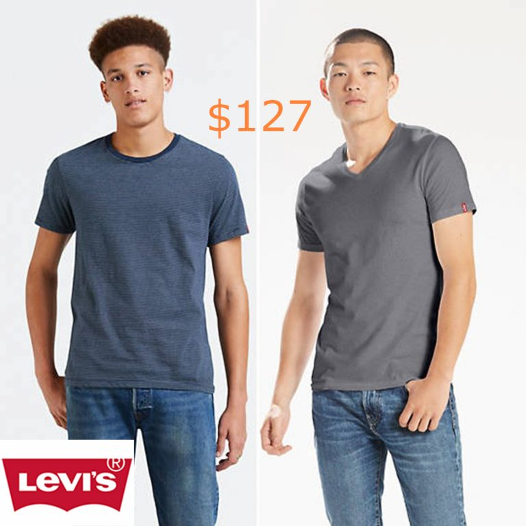 127Slim Fit Crewneck Tee Shirt (2-pack)