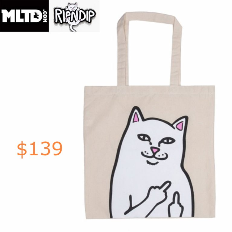 139RIPNDIP, OG Lord Nermal Tote Bag
