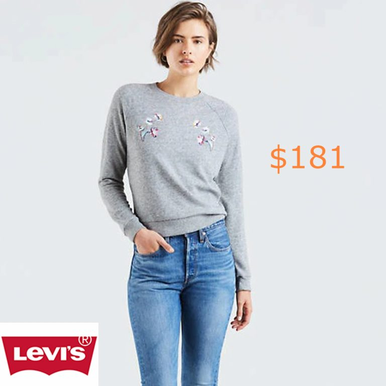 181Relaxed Crewneck Sweatshirt