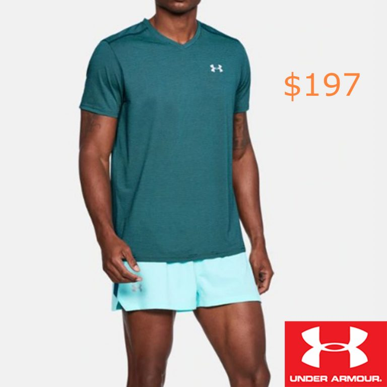 197Men's UA Streaker V-Neck