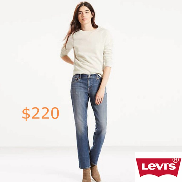 220-414 Classic Straight Jeans