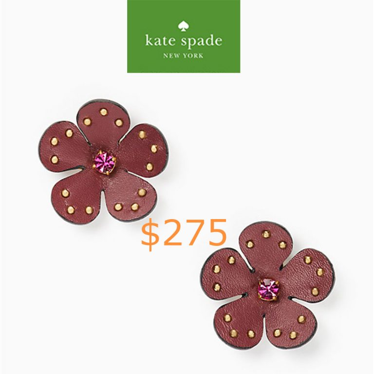 275blooming bling leather studs
