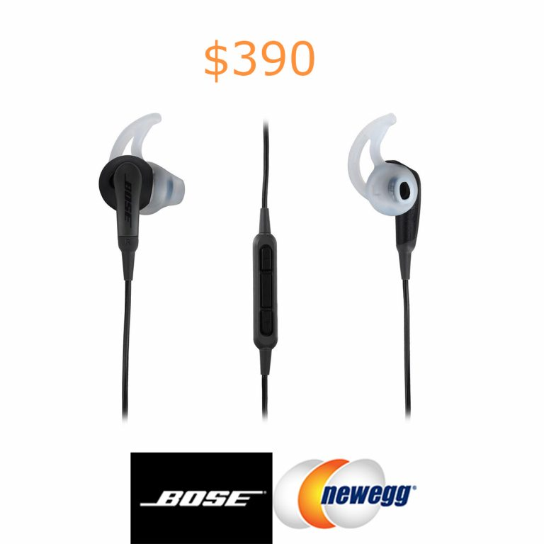 390Bose SoundSport In-Ear Headphones - Charcoal - Samsung & Android Devices