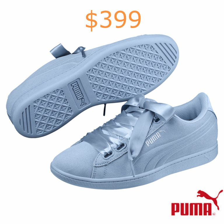 399PUMA Vikky Ribbon Satin Women's Sneakers