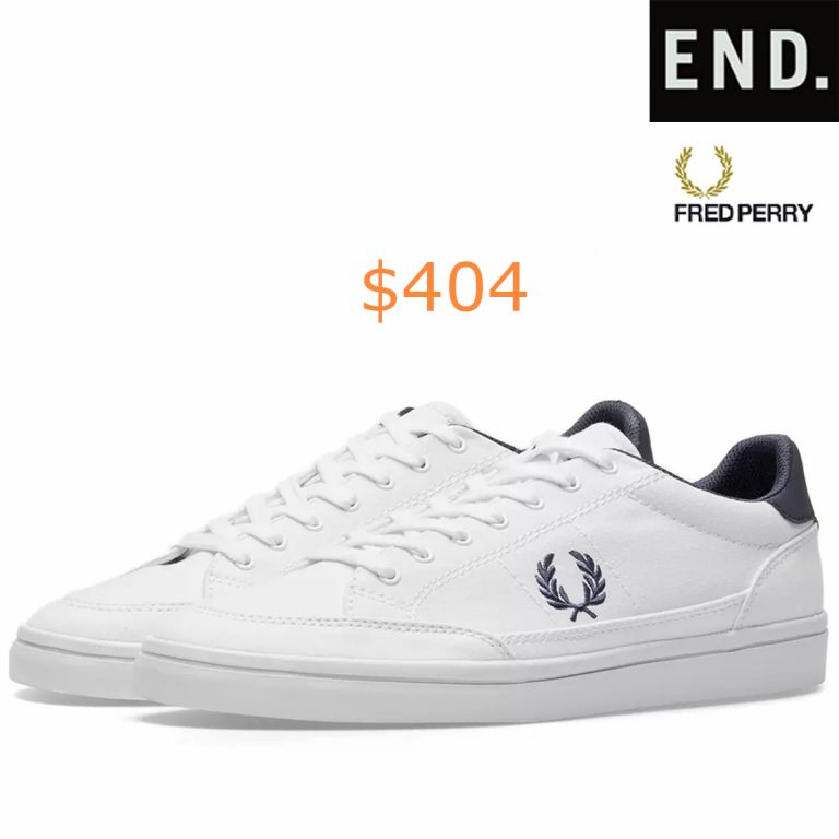 404Fred Perry Deuce Canvas Sneaker