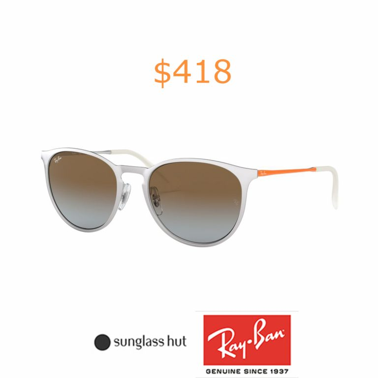 418Ray-Ban RB3539 54 54 Brown & Silver Sunglasses