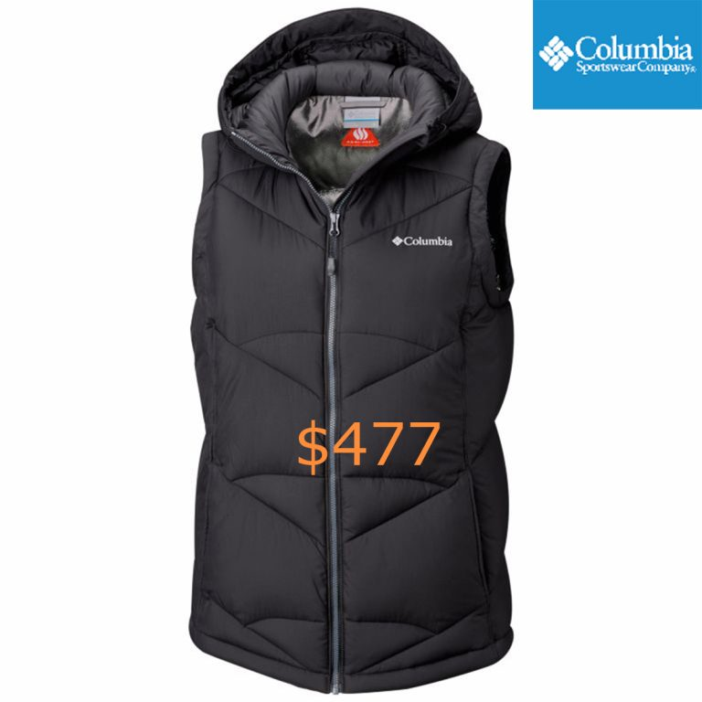 477Women's Pike Lake Hooded Vest