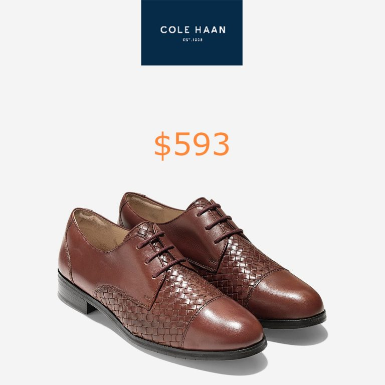 593Jagger Grand Weave Oxfords