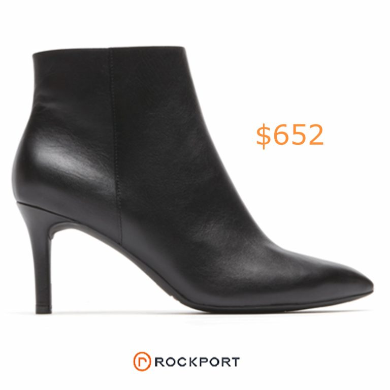 652Total Motion Pointed Toe Bootie