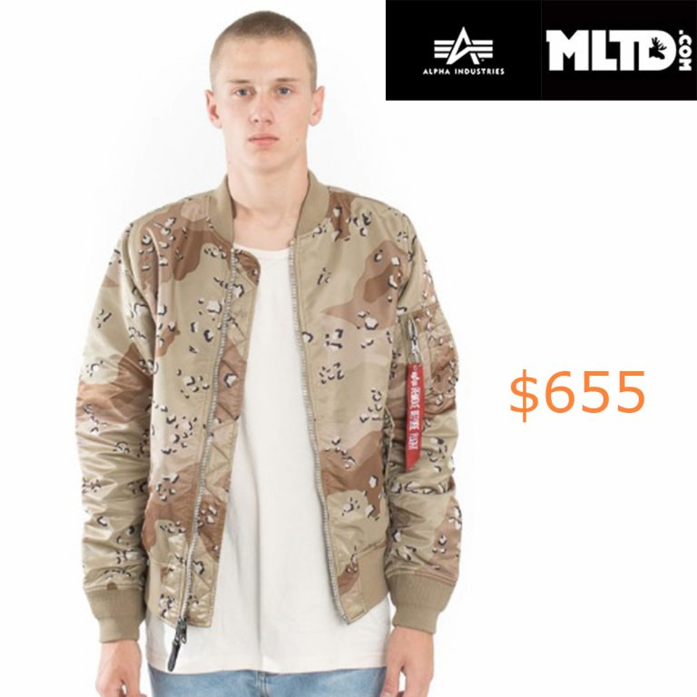 655Alpha Industries, MA-1 Double Camo Jacket