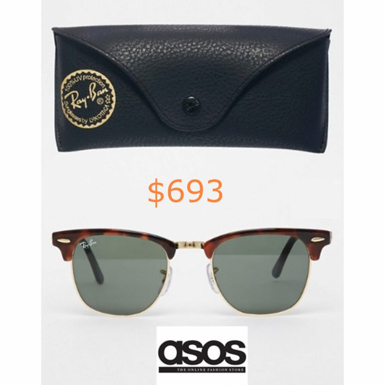 693Ray-Ban - Ray-Ban Clubmaster sunglasses 0rb3016 w0366 49