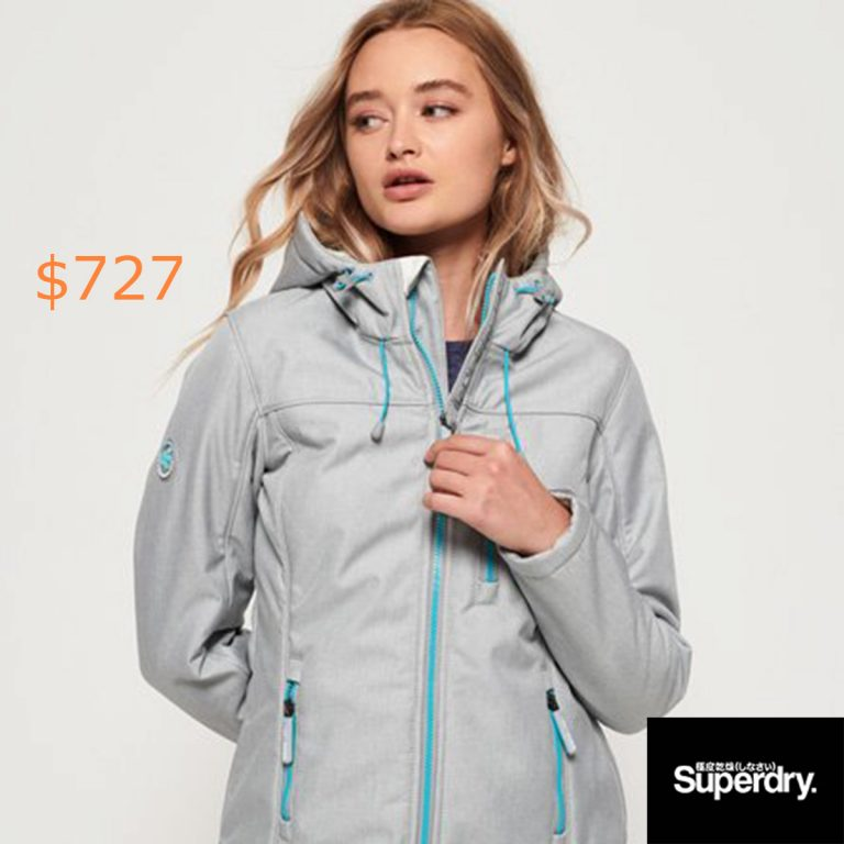 727Superdry Hooded Winter SD-Windtrekker Jacket